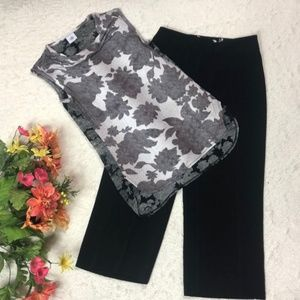 OUTFIT WHBM / CABI capris and top career